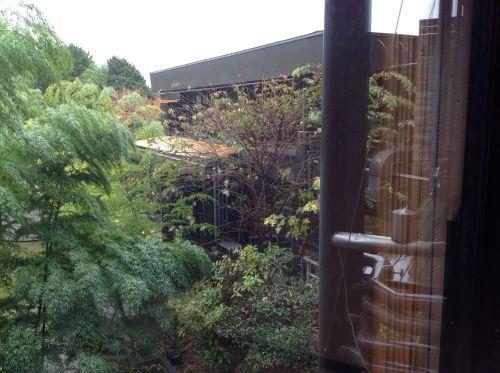 箱根酒店窗外風景2