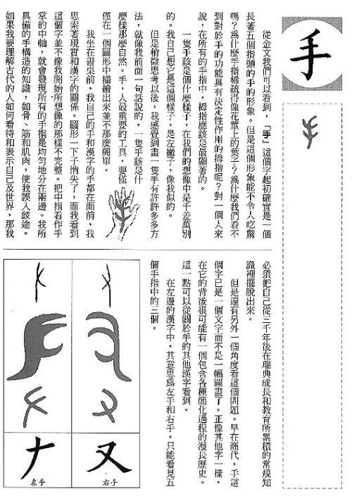 漢字的故事 ( 11 )