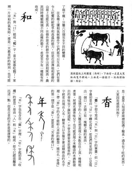 漢字的故事:<農耕 ( 6-21 )>