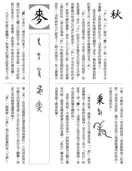 漢字的故事:<農耕 ( 6-22 )>