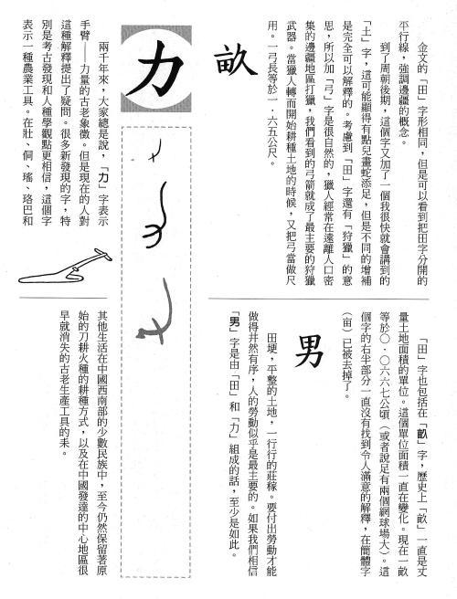 漢字的故事:<農耕 ( 6-3 )>