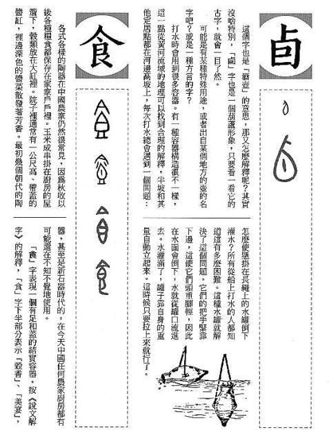 漢字的故事:<酒和器皿 ( 7-5 )>