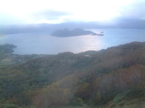 洞爺湖的黃昏景色 3