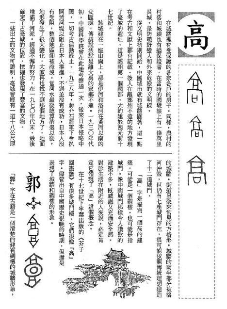 漢字的故事:<屋頂與房子 ( 11-12 )>