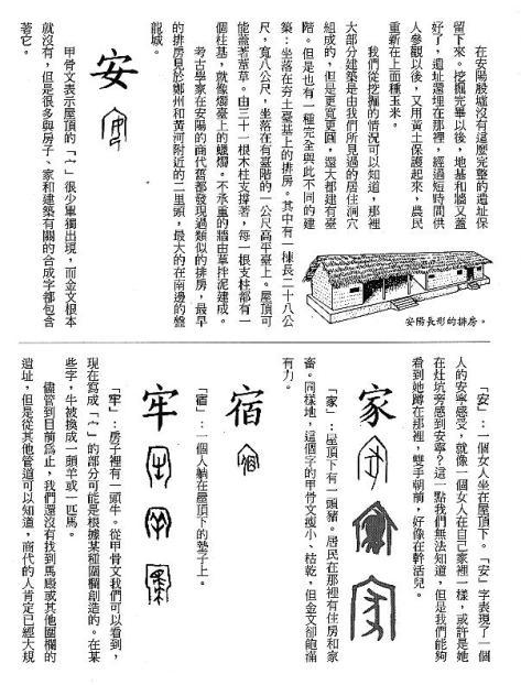 漢字的故事:<屋頂與房子 ( 11-4 )>