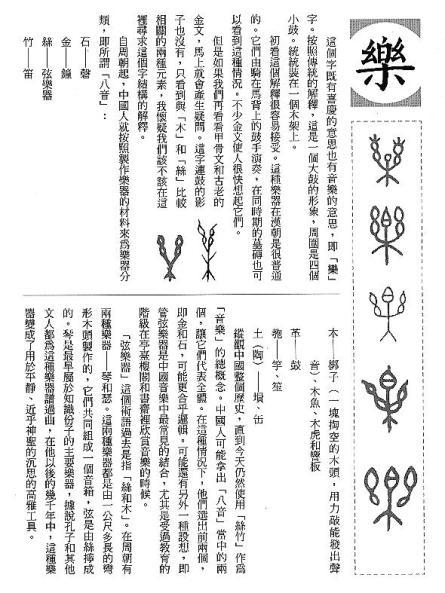 漢字的故事:<書籍與樂器 ( 12-22 )>