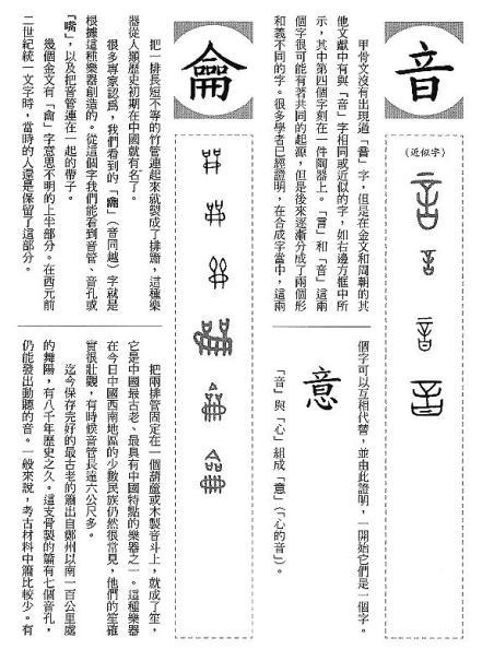 漢字的故事:<書籍與樂器 ( 12-8 )>