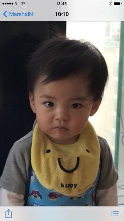 我的孫兒相片